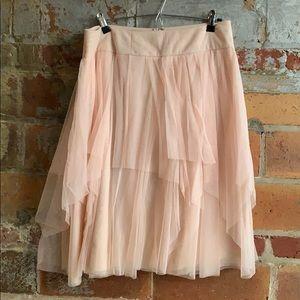 Ann Taylor ballet mini skirt